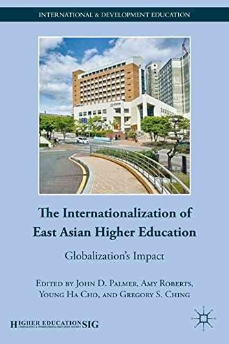 [(The Internationalization of East Asian Higher Education : Globalization's Impact)] [Edited by John D. Palmer ] published on (November, 2011)