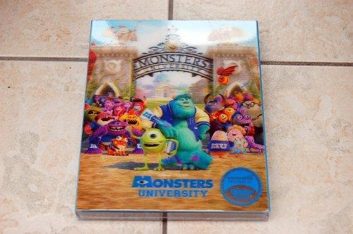 Monsters Inc Blu-ray Lenticular Steelbook KimchiDVD #3 Limited Edition [Korea Import]