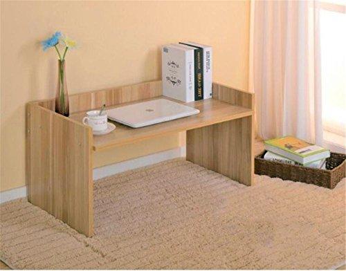 QXWL Kleines kompaktes Bücherregal Kreative Schreibtischregale Laptop-Regale Mini Bücherregal Regale für Regale Einfache Regale für Büros ( Color : B ) -