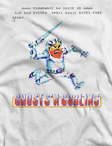 Ghosts N Goblins T-Shirt S-XXL 12 Colori / Colours Bianco