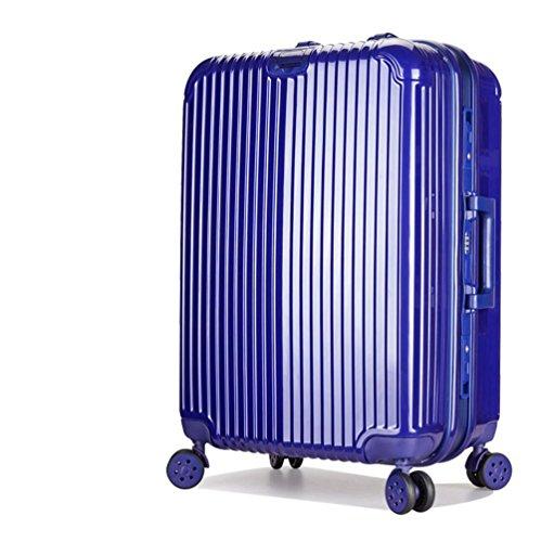 ABS + PC Deposito Bag Trolley universale rotella Valigia , 4 , 24 inch