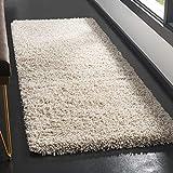 "Safavieh California Shag Collection SG151–1010White Area rug (9'15,2cm x 13'), Polipropilene, Beige, 2'3"" x 5'"