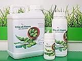 Olio di neem 250 ml insetticida Repellente Biologico orto Giardino 100% Naturale Uso Professionale