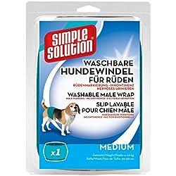 Simple Solution Hunde Windeln waschbar für Rüden M
