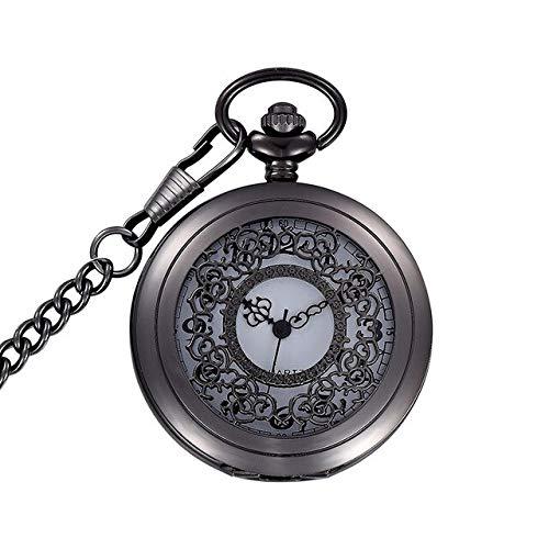 Tipo de artículo: Relojes de bolsillo y fob  Movimiento: CUARZO  Género: Hombres  Estilo: antiguo  Tipo de material del dial: acero inoxidable  Pantalla del dial: analógico  Forma de la caja: redonda  Material de la caja: acero inoxidable + + Marque ...