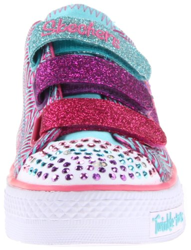 Skechers ShufflesTriple Up, Sneaker Bambina Turchese (Türkis (TQMT))