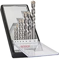 Bosch 2607010545 Set de 7 Forets à bÃton Robust Line CYL-3 4/5/ 6/6/ 8/10/ 12 mm