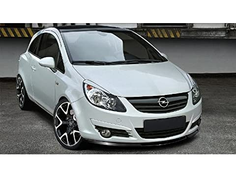 Front Splitter Vauxhall / Opel Corsa D For Standard Bumper Before Facelifting