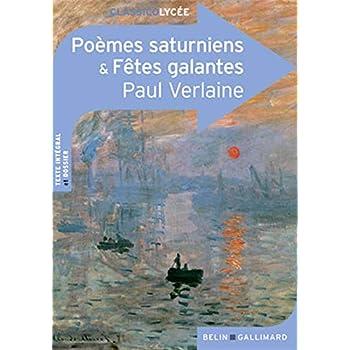 Poèmes saturniens - Fêtes galantes