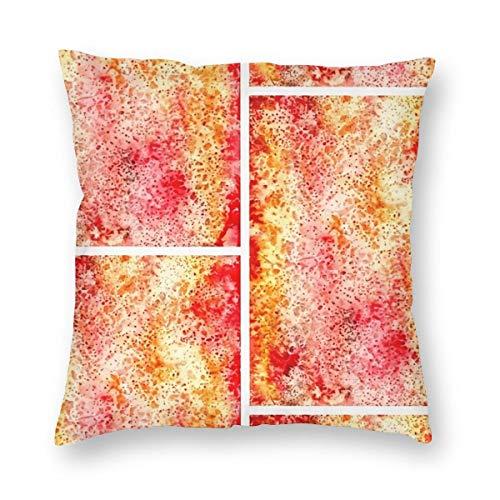 THsirtee Red Sprinkler Dekokissen Fall Platz Kissenbezug Kissenbezug Protektoren Für Sofa Bank Couch Autositz Bett 12