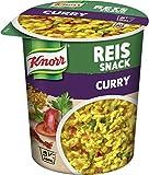 Produkt-Bild: Knorr Snack Bar Reis Snack Curry 1 Portion, 8er-Pack