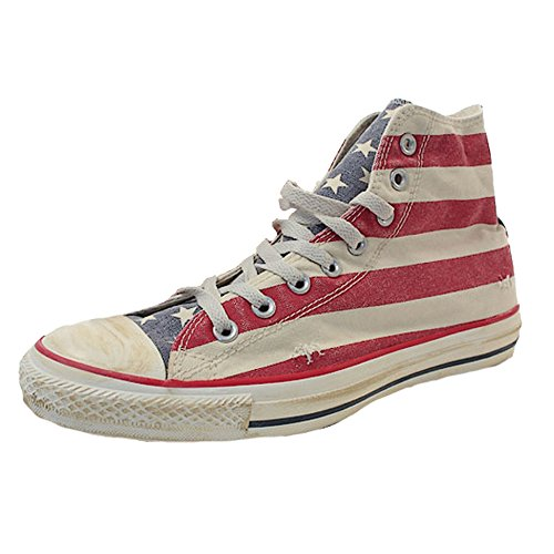 Converse Ctas Union Jack 135504C Sneaker Unisex Erwachsene, mehrfarbig