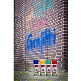 Graffiti Kreide-Spray : Rot