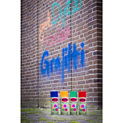 Graffiti Kreide-Spray : Orange (Spray-markierung Kreide)