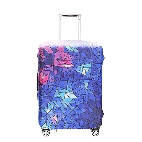 """OneSky-UK Housse de bagage, housse de protection personnalisée et durable, taille de protection de valise adaptée à 18-32 pouces (XL(29-32"""")Étoile brillante)"""