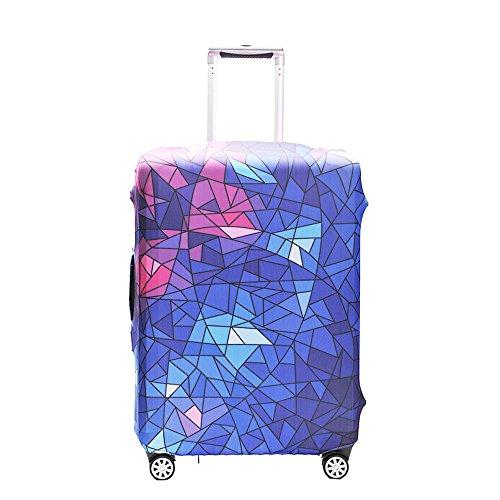 OneSky-UK Gepäckabdeckung, personalisiertes schützendes haltbares waschbares, Koffer-Schutz-Größe passt 18-32 Zoll (S(18-20
