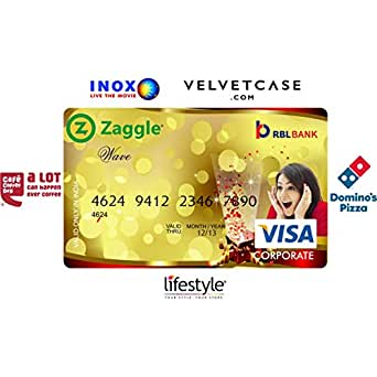 Zaggle Wave Card- Rs.1000