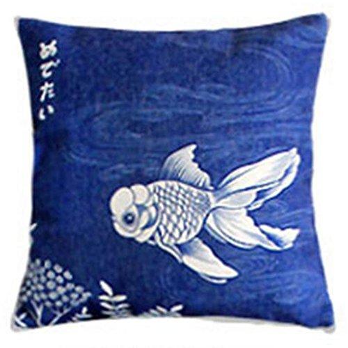 Black Temptation Style Japonais Coussin d'oreiller Confortable pour la Maison/Sushi Restaurant 45x45cm -A7
