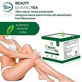 TIIRO SLIM TEA, WEIGHT LOSS TEA WITH ORGANIC HERBAL TEAS INCLUDING GREEN TEA