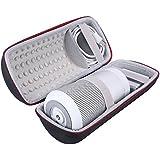Carry Viajes Almacenamiento Protector portátil caso bolsa de cubierta de la caja funda para Bose SoundLink Revolve + altavoz Bluetooth–espacio adicional para fuente de alimentación y USB Cable de carga