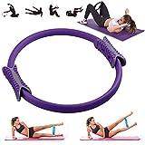 VANUODA Pilates Fitness Resistance Training Ring - Dubbele Handvat Pilates Yoga Ring - Gewichtsverlies Body Toning Magic Oefening Cirkel om vet te verbranden