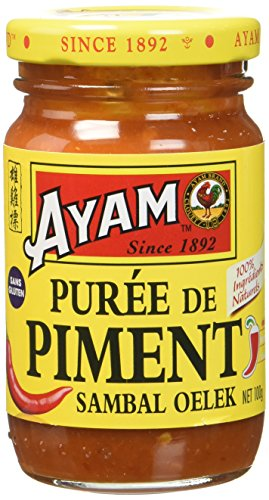 AYAM Purée de Piment - Lot de 4