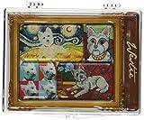 Pavilion Gift Company 12008Paw Paletten 6Mini Masterpiece Magnet Set, 4von 3–1/2, West Highland Terrier