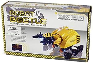 CEBEKIT-C9894 Robot Moon Walker En Kit, Mando Incluido, Color Amarillo (C9894)