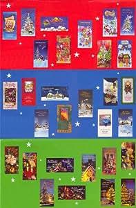 100 weihnachtskarten 30 motive gru karten weihnachten karten 22 1110 b robedarf - Weihnachtskarten amazon ...