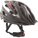 Sport Direct Mens Bicycle Helmet Red/Black 58-61cm