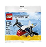 #9: Lego, Creator, Transport Plane Bagged (30189)