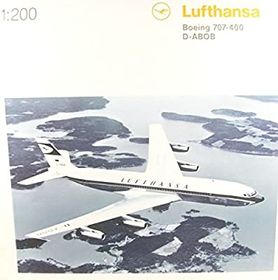 Herpa 557818-001 Lufthansa Boeing 707-400 von HERPA