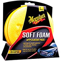 Meguiar's 81491 Applicatore Cera/Gel, Set di 2
