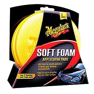 Meguiars Soft Foam Applicator Pads Tampon applicateur mousse