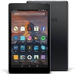 Fire HD 8-Tablet mit Alexa, 20,3 cm (8 Zoll) HD Display, 32 GB (Schwarz), mit Spezialangeboten (vorherige Generation – 7.) Fire HD