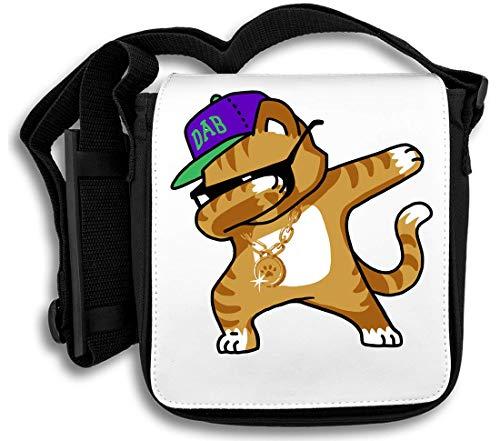 7fb3581f1 Dabbing Cat Funny Shirt Dab Hip Hop Dabbing Kitten Borsa a tracolla