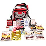 Survival Backpack 5 Days, Red