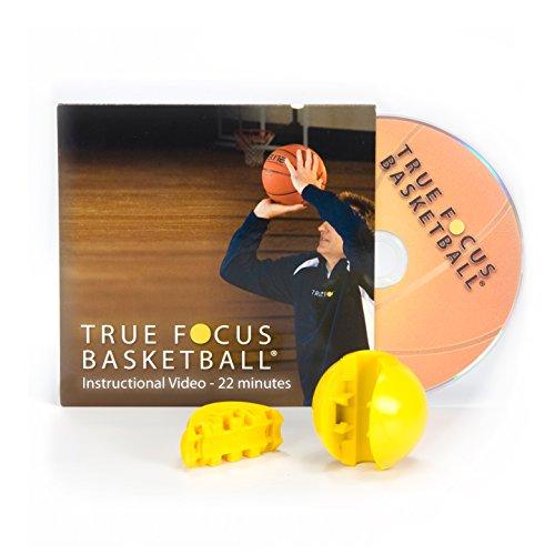truefocus Basketball Praxis Target–3PK (inkl. 3Ziel Kugeln + 1Anleitungs-DVD)