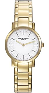 Quarz Zifferblatt Armband Leder Pierre Cardin Uhr Damen Mit Multi uFlKc13TJ