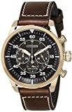 (CERTIFIED REFURBISHED) Citizen Chronograph Black Dial Men's Watch-CA4213-00E