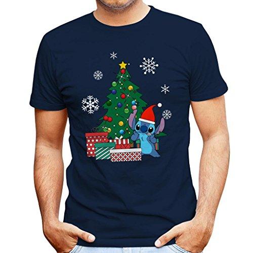 Stitch Christmas Tree Lilo And Stitch Men's ()