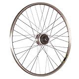 Taylor-Wheels 28 Zoll Hinterrad A319 mit ALFINE 8-Gang Disc/V-Brake - silber
