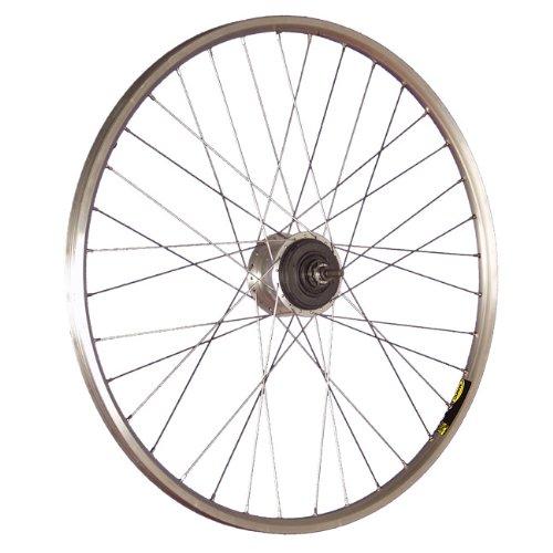 Taylor-Wheels 28 Zoll Hinterrad A319 / ALFINE 8-Gang (Disc/V-Brake) - Silber -