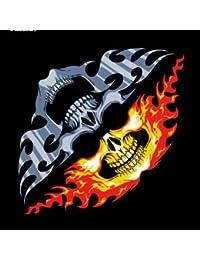 "Bandana tour de cou foulard 2 en 1 ""Tete de mort - Skull Face"" Airsoft - Paintball - Moto - Biker"