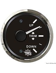 Indicateur trim 0/190 Ohm noir/polie