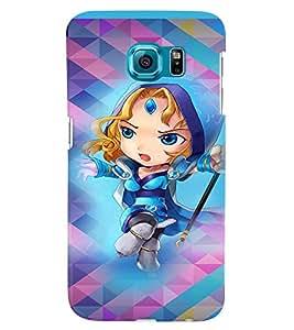 PRINTVISA Cartoon Girl Case Cover for Samsung Galaxy Note 5 Edge