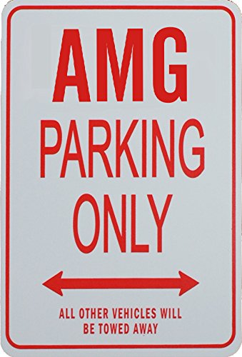 amg-parking-only-sign-mercedes