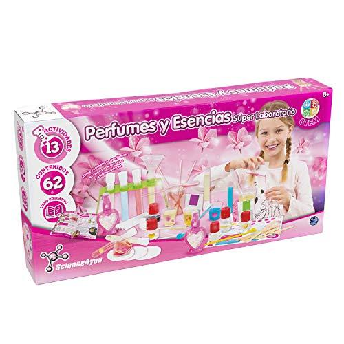 Science4you-Perfumes Perfumes y Esencias, Súper Laboratório para Niños +8 Años, Multicolor (80002233)