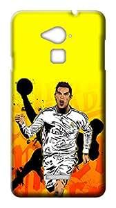 Mott2 Back Case for Coolpad Note 3 | Coolpad Note 3Back Cover | Coolpad Note 3 Back Case - Printed Designer Hard Plastic Case - Cristiano Ronaldo-CR7 theme