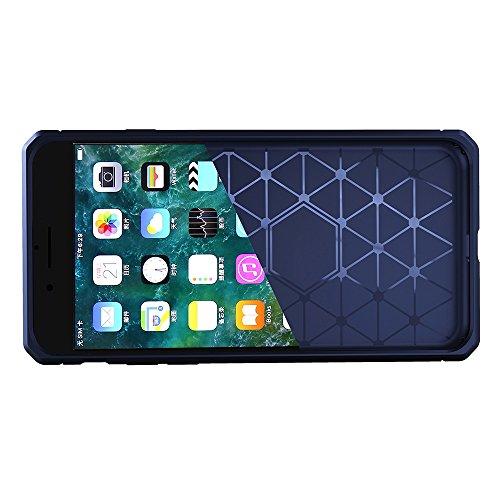 JIALUN-étui pour téléphone Pour Apple IPhone 6 et 6s Plus Case Anti-vibration Cool Back Cover Housse de protection ( Color : Purple ) Dark Blue